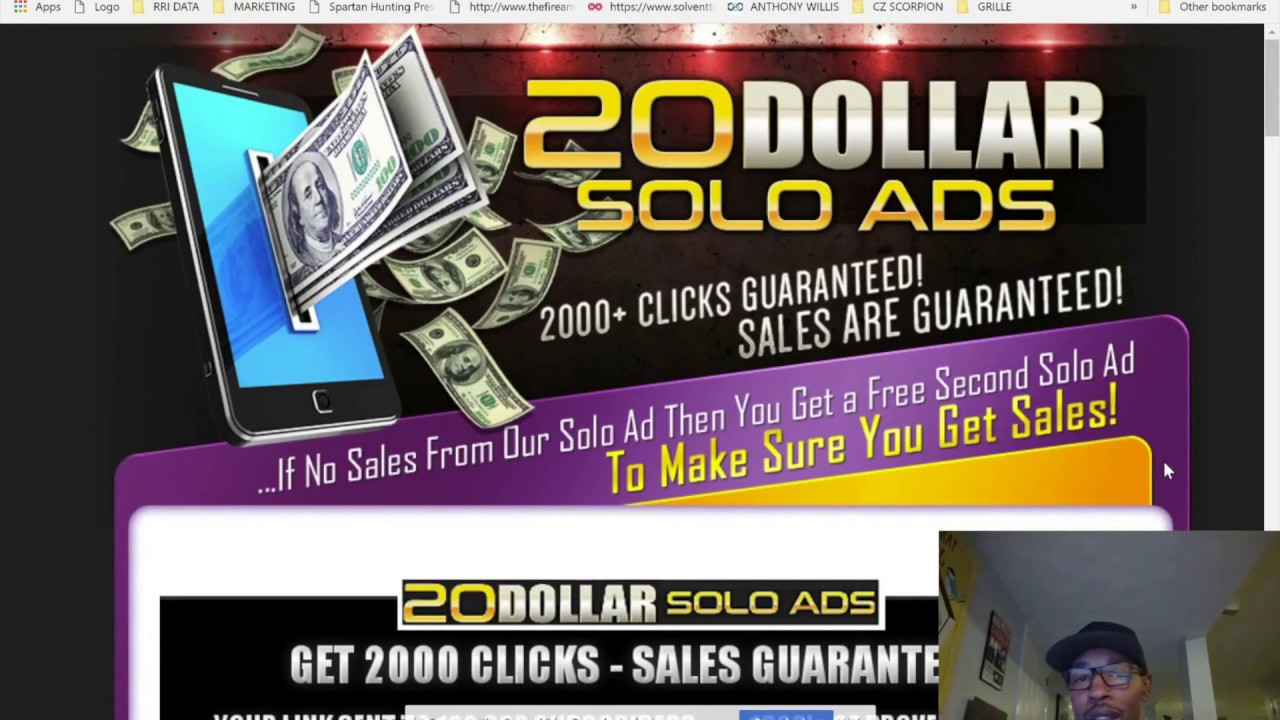 20 Dollar Solo Ads - Is it a Cheap Traffic Scam? 2018 Review Day 1 ...