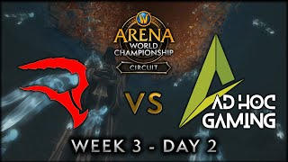 Reload Esports vs Ad Hoc Gaming | Week 3 Day 2 | AWC SL Circuit