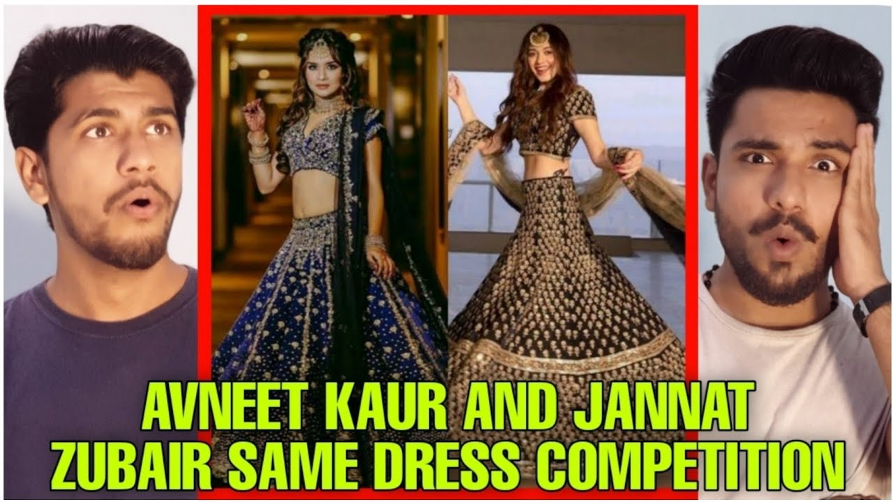 Download Avneet Kaur and Jannat zubair Dress Competition | Pakistan Reaction | Hashmi Reaction