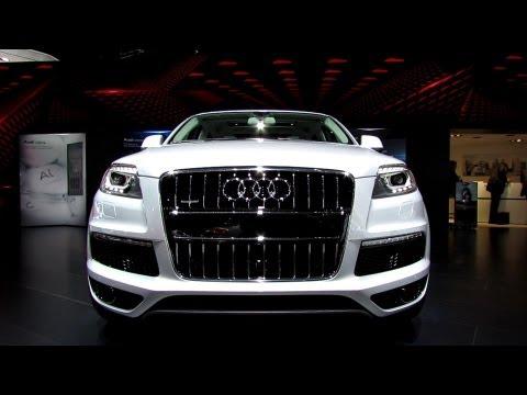 2013 Audi Q7 TDI Quattro S-Line - Exterior and Interior Walkaround - 2013 Detroit Auto Show