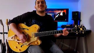 Brian Setzer - Summertime Blues Guitar Cover