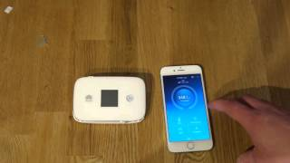 Huawei Mobile Hotspot E5786 Teil 3 Inbetriebnahme mit Gesperrter SIM Karte