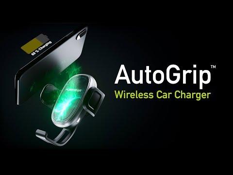PureGear AutoGrip Wireless Car Charger
