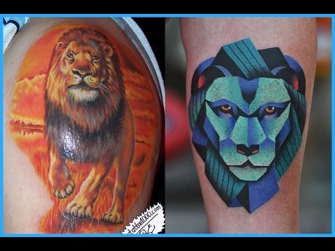 Amazing Lion Tattoos Design Video