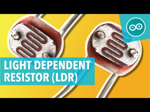 LDR (LIGHT DEPENDENT RESISTOR) - Arduino Tutorial #20
