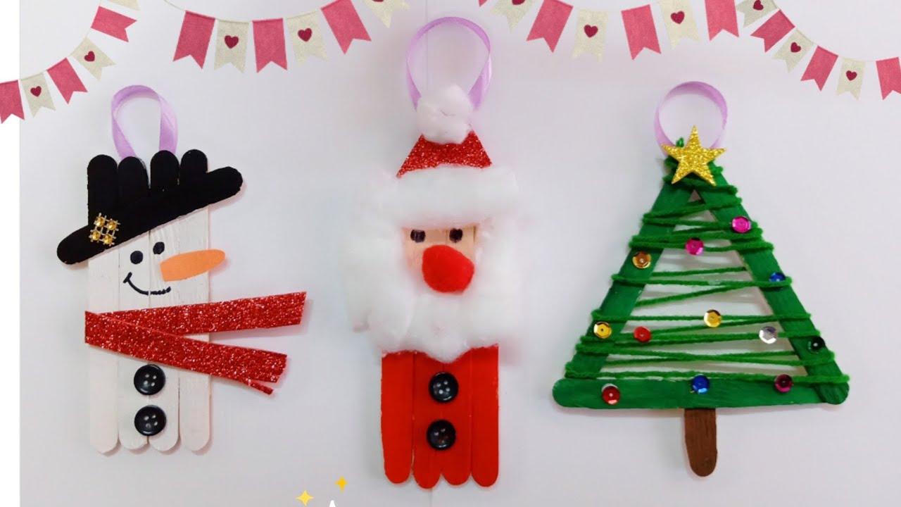 christmas ornaments popsicle sticks # 10