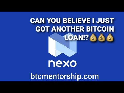 Getting A $1400 Bitcoin Loan From Nexo For Pennies Per Day