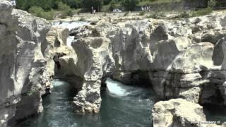 Les Cascades du Sautadet, La-Roque-sur-Cèze (France/Gard)