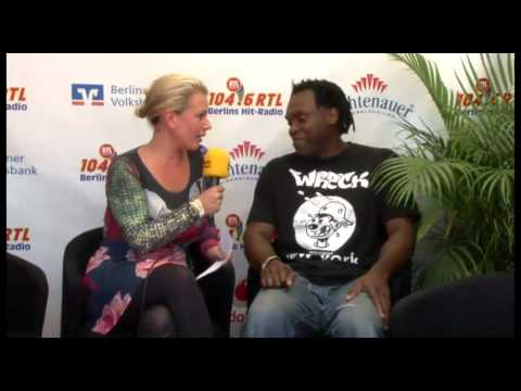 "Dr Alban interview in ""Stars for Free"" - Berlin 2012"