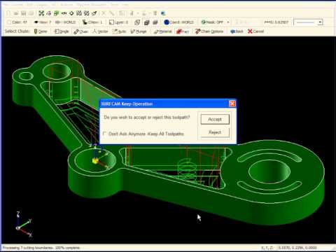 SURFCAM Tutorial - 2-Axis: Rest Machining