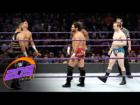 Thumbnail: Fatal 5-Way Elimination Match for No.1 Contender to Cruiserweight Title: WWE 205 Live: Feb. 7, 2017