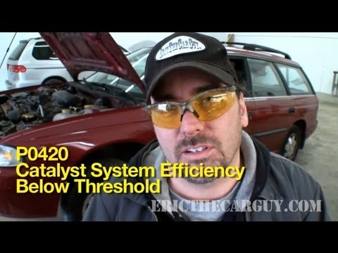 P0420 How To Diagnose A Bad Catalytic Converter -EricTheCarGuy - YouTube
