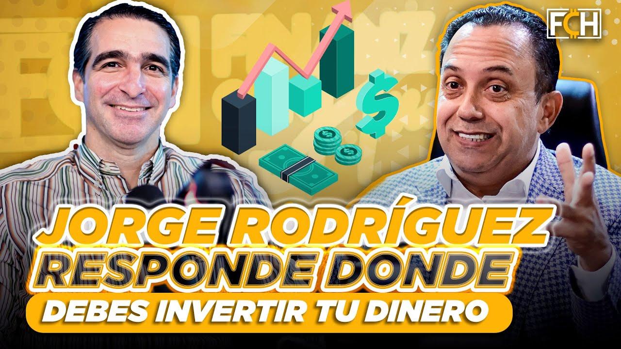💰💰 ¿DONDE INVERTIR TU DINERO?, JORGE RODRÍGUEZ RESPONDE (FINANZAS CON HUMOR)