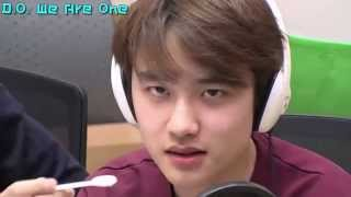 EXO D.O Eating Yogurt Sexy
