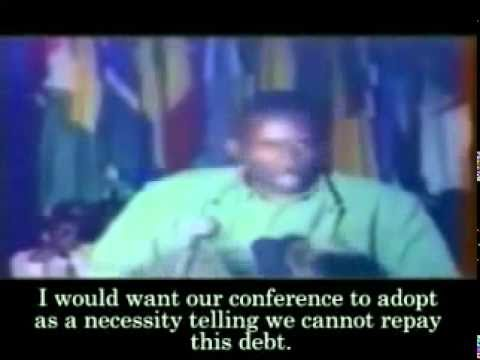 Burkina Faso President Thomas Sankara's 'Against debt' speech 1987 Part 2