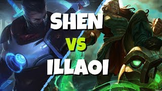 STOMPING Illaoi 101 - Shen vs Illaoi (League of Legends)