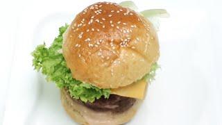 বিফ বার্গার তৈরির সহজ রেসিপি//beef burger recipe//burger recipe