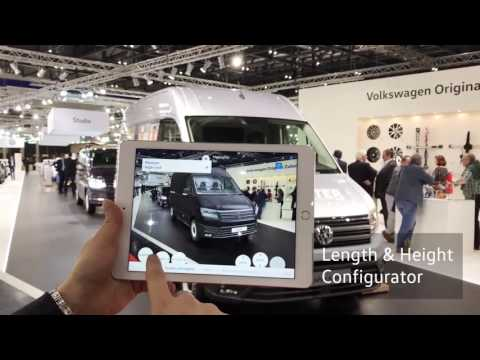 Volkswagen Commercial Vehicles seeMore – The new Crafter in AR