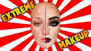 Extreme Makeup    La Magia Del Maquillaje Video Antes y Despues