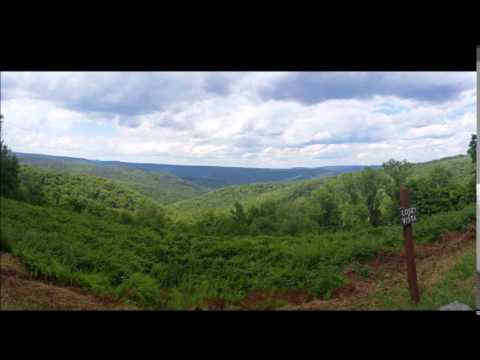 Potter County, PA Scenic Overlooks