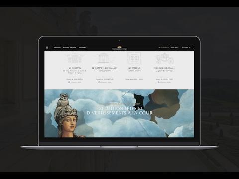 Nouveau site internet du Château de Versailles
