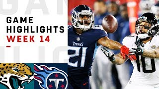 Jaguars vs. Titans Week 14 Highlights | NFL 2018
