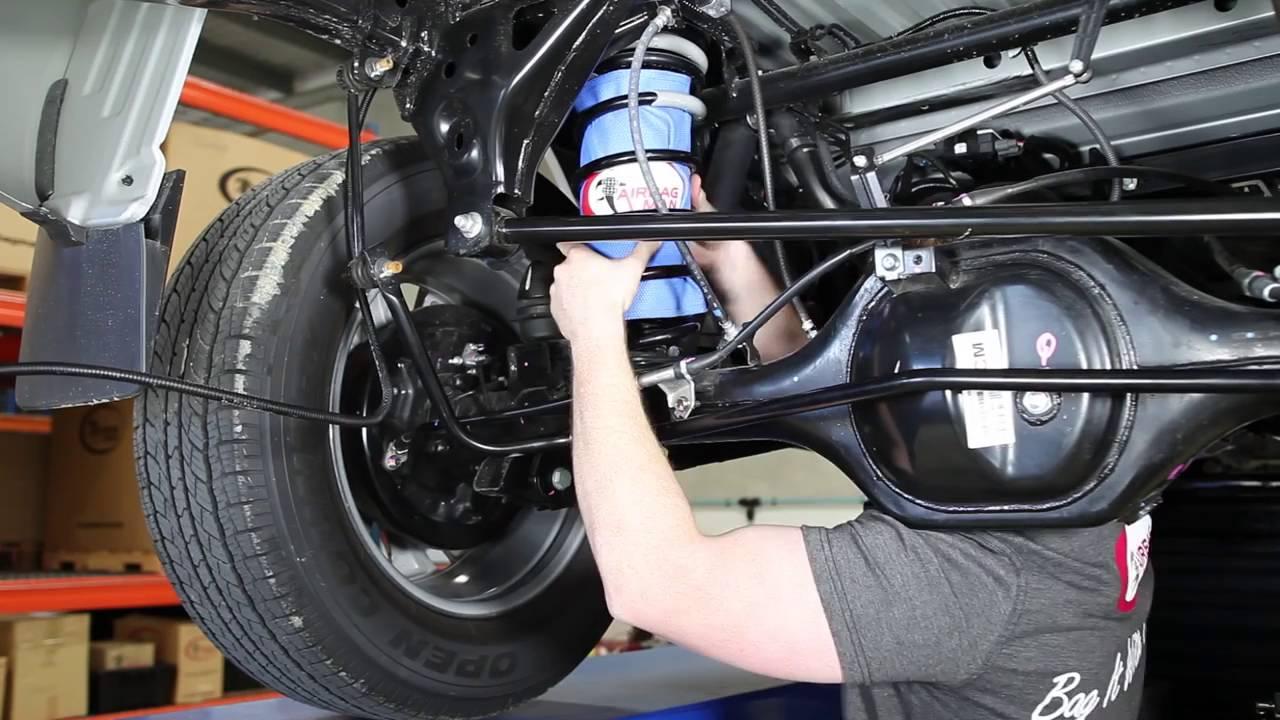 High Pressure Coils : How to install np navara air suspension cr hp
