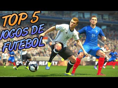 TOP 5 - MELHORES JOGOS DE FUTEBOL PC FRACO