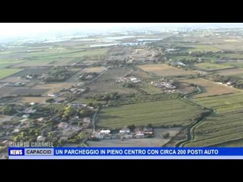 CAPACCIO, UN PARCHEGGIO IN PIENO CENTRO CON CIRCA 200 POSTI AUTO