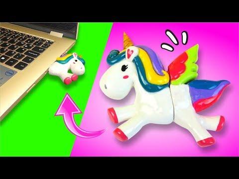PARTE 2: 🦄 UniCorNIZATE y decora tu USB! 🦄 ¡REGRESO A CLASES! ★ El Arte de Pau★