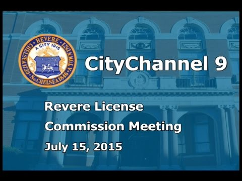License Commission (07/15/15)