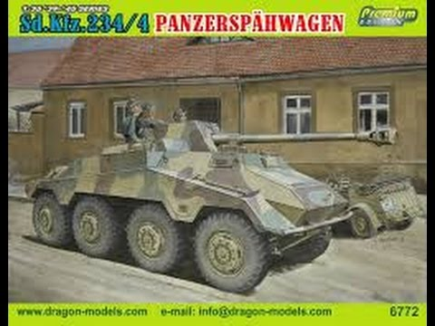 Kit Review: Dragon Sd.Kfz.234/4 Panzerspähwagen