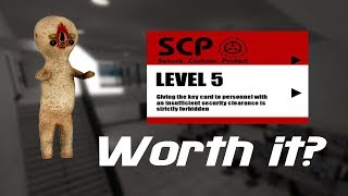 ROBLOX Site-61/Area-14 - Is Level 5 Keycard worth it? Everything you need to know!