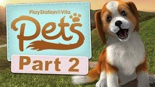 Playstation Vita Pets Let's Play Walkthrough 2 - Here Boy, Walkies!