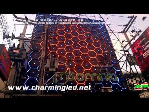 LED Tube Light & LED Square Pixel Light for Thailand club outdoor wall, Carrie whatsapp +15815878864