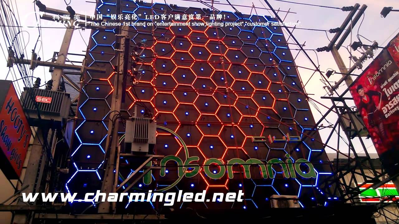 Led Light Square Pixel For Thailand Club Outdoor Wall Carrie Whats 15815878864 You