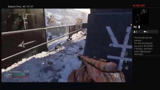 Playing call of duty world war 2 wt/generalbakedjews