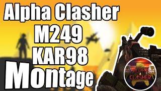 Alpha Clasher M249 & Kar98 Pubg Montage 🔶Hydra Clan🔶 Gunhawk Gamer 🔶