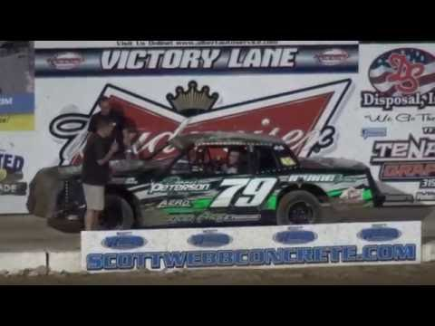 IMCA Hobby Stock feature Independence Motor Speedway 7/30/16
