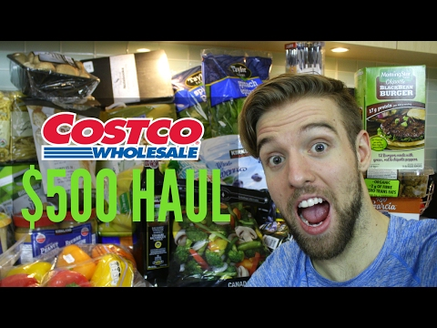 I SPENT $500 AT COSTCO TO SAVE MONEY! (VEGAN GROCERY HAUL)
