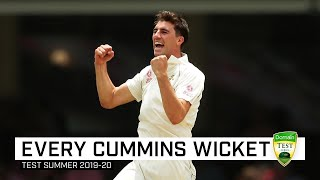 Every wicket: Watch all 20 of Cummins' wickets for the summer