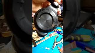 Ремонт дуги наушников  Bluedio T2S из ГиП.ч3