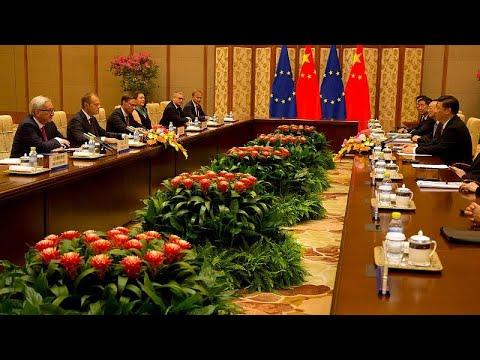 China: UE pede cooperação para reformar comércio
