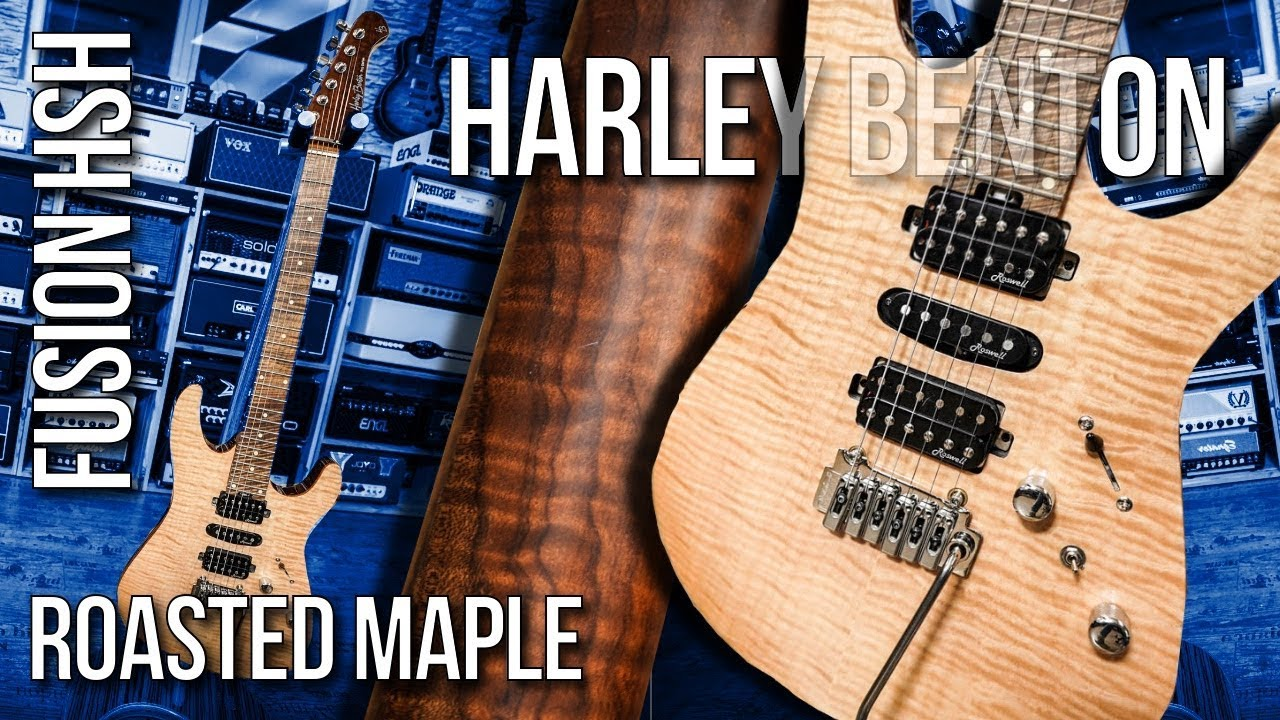 Roasted Maple Axe for 399? Let's examine the Harley Benton Fusion RM!