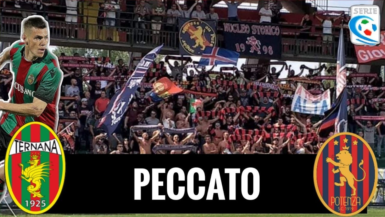 Serie C Ternana 1 0 Potenza Live Reaction Hd P4ul