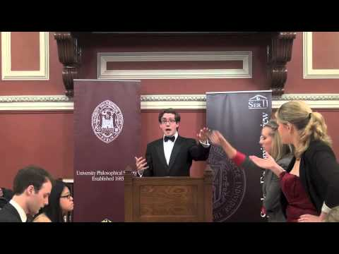 The Student Economic Review Debate | Trinity VS Yale | This House Believes Tax is Theft