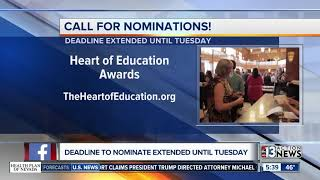 Heart of Education nominations