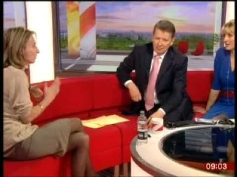 Daisy Waugh speaking on BBC Breakfast about her new book, Melting the Snow on Hester Street