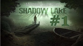 Mystery Case Files: Shadow Lake Walkthrough part 1