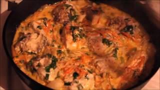 Правильное питание / Рыба в сметанном соусе / Fish in sour cream sause